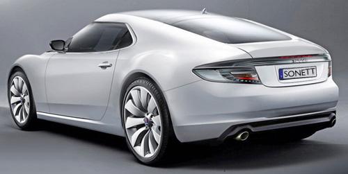 Saab Sonett Concept Image Rear