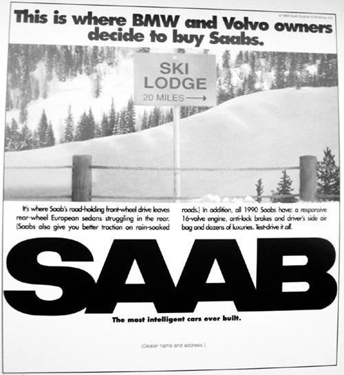 Saab ski area