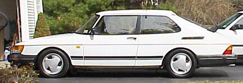 1993 Saab 900 Turbo 3 Door
