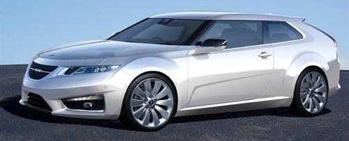 2012 Saab 9-3 Rendering