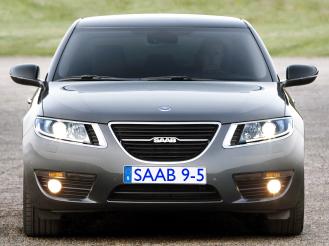 2010 Saab 9-5 front
