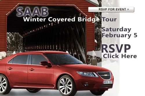 Pennsylvania Saab Covered Bridge Tour 2011