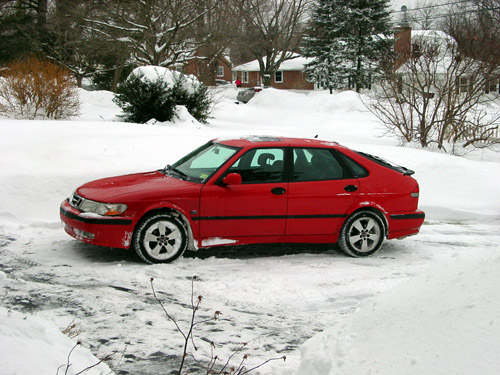 Snow and Saabs 2-1-2011 005