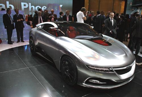 Saab PhoeniX Concept Car Front Angle