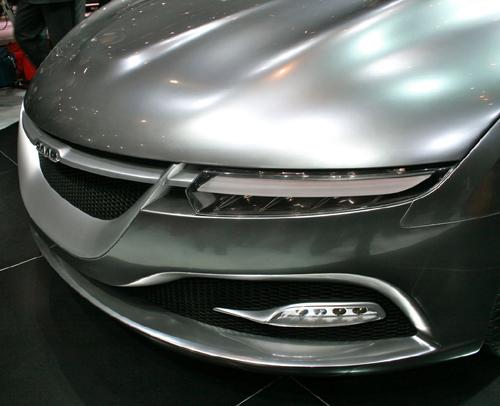 Saab PhoeniX Concept Car Nose