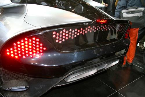 Saab Phoenix Concept Car Rear Angle