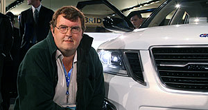 Steven Wade of Saab