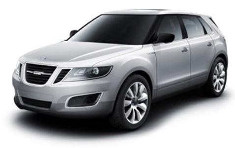 all-new 2011 Saab 9-4X