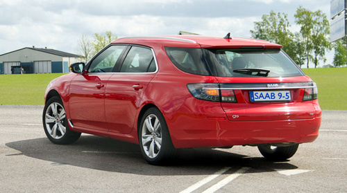 Saab 95 SportCombi 2 from SU Days and Thomas J