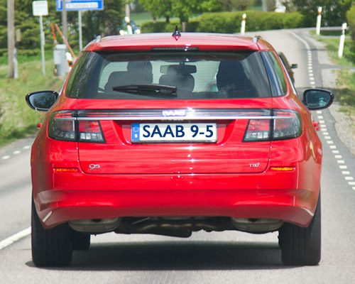 Saab 95 SportCombi from SU Days and Thomas J
