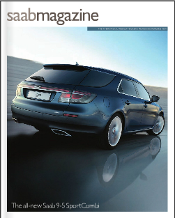 Saab Magazine Cover 1st Qtr 2011