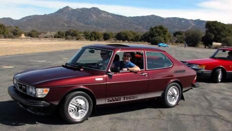 1980 Saab 99 Turbo with graphics