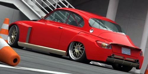 2010 Saab concept 1968 retro2
