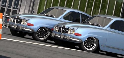 2010 Saab concept 1968 retro3