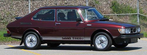 GM Heritage 1976 Saab 99 Turbo