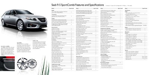 Saab 9-5 SportCombi PreLaunch Brochure USA 4
