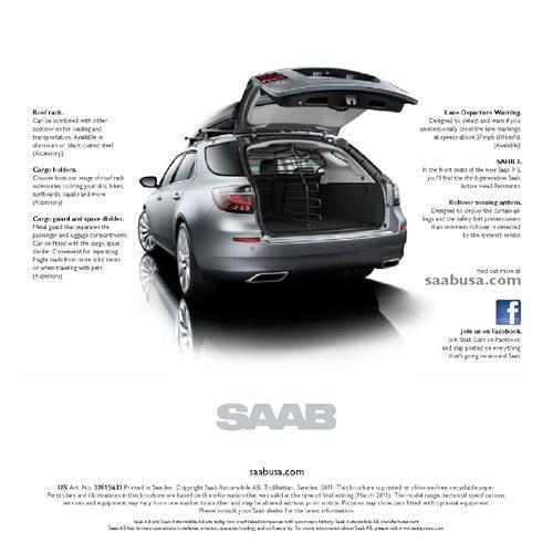 Saab 9-5 SportCombi PreLaunch Brochure USA 5