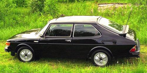 Saab 99 Turbo black