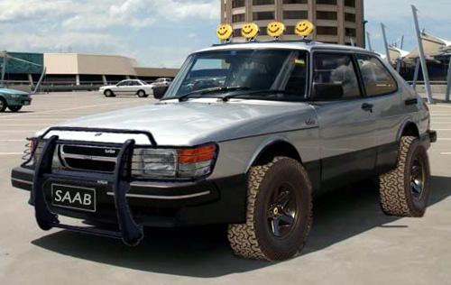 Saab Monster Truck