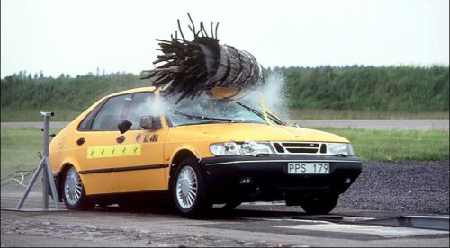 Saab Moose test 2