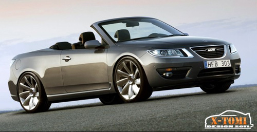 Saab 9-5 Convertible by TomiX