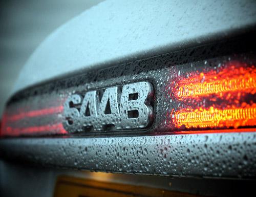 Saab 9-5 rear badge