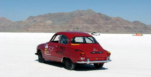 Saab 96 @ Bonneville Salt Flats 2010 5