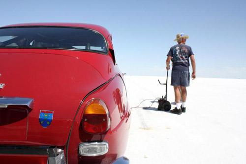 Saab 96 @ Bonneville Salt Flats 2011 3