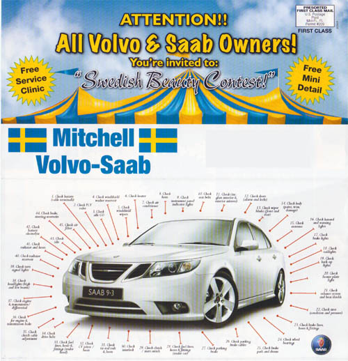 Swedish Beauty Contest 2011 @ Mitchell Saab 2