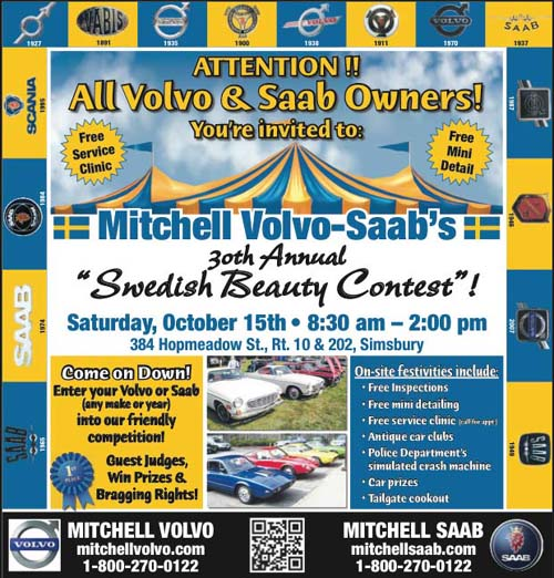 Swedish Beauty Contest 2011 @ Mitchell Saab, Simsbury, CT